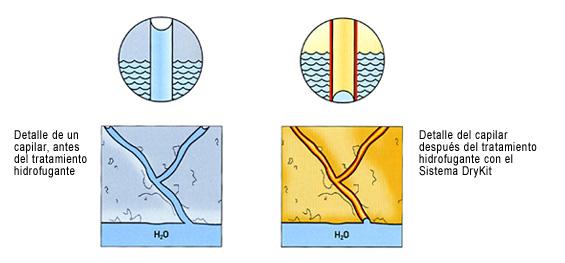 Humedad de capilaridad - Tratamiento de humedades en paredes ...
